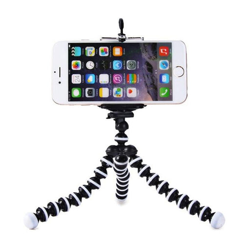 Mini Flexible Tripod Holder Adjustable Octopus Flexible Cell Phone Holder Stand Selfie Stick