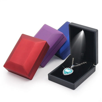 Premium LED Light Jewelry Box