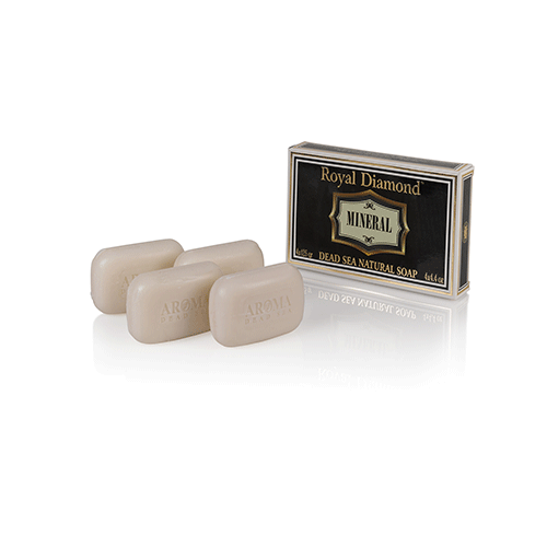Royal Diamond Mineral 4 Soaps kit