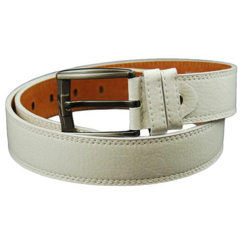 AFONiE Men's Casual Bonded Leather Belt