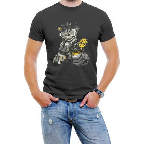 Gangster Popeye Men T-Shirt