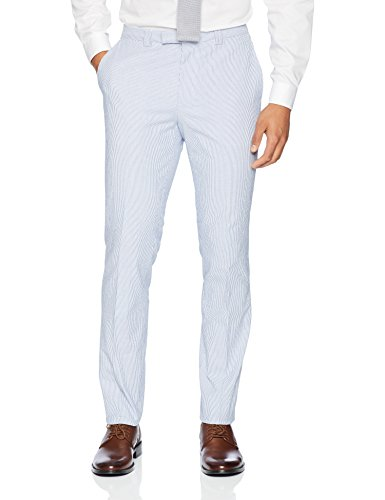 Hugo Boss Hugo Men's Slim Fit Seersucker Suit-Arti/hesten