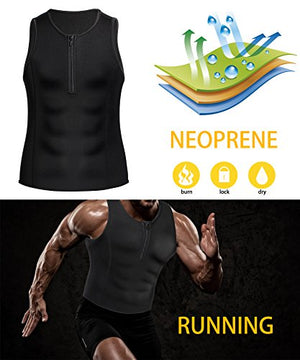 Men Weight Loss Sauna Tank Top
