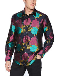 Robert Graham Men's Tango Long Sleeve Classic Fit Shirt