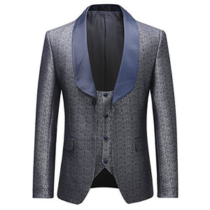 Mens 3 Piece Dinner Tuxedo Suit
