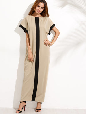 Pocket Full Length Tee Dress