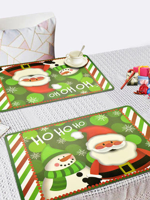Christmas Print Placemat 2pcs