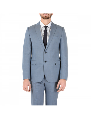 Armani Collezioni Mens Suit Light Blue
