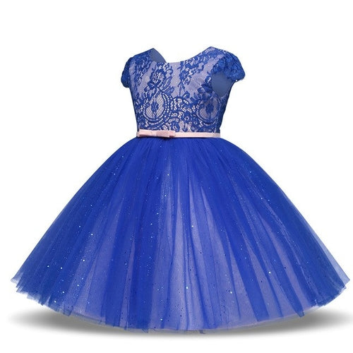 Lace Girl Princess Bridesmaid Pageant Tutu Tulle