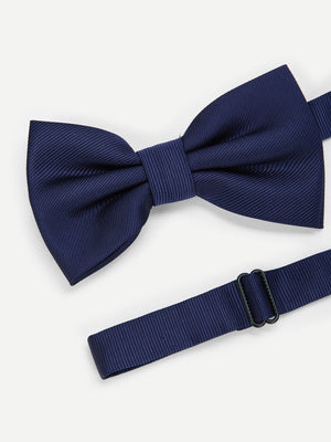 Men Plain Bow Tie