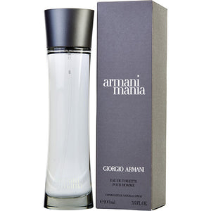 ARMANI MANIA by Giorgio Armani EDT SPRAY 3.4 OZ