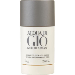 ACQUA DI GIO by Giorgio Armani ALCOHOL FREE DEODORANT STICK 2.6 OZ