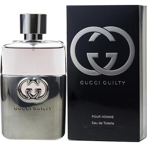 GUCCI GUILTY POUR HOMME by Gucci EDT SPRAY 1.6 OZ