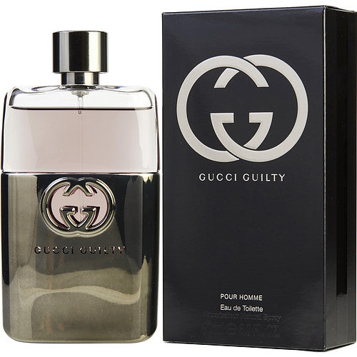 GUCCI GUILTY POUR HOMME by Gucci EDT SPRAY 3 OZ