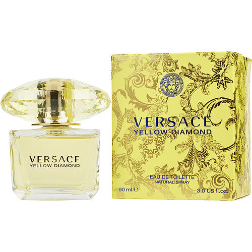 VERSACE YELLOW DIAMOND by Gianni Versace EDT SPRAY 3 OZ