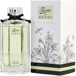 GUCCI FLORA GRACIOUS TUBEROSE by Gucci EDT SPRAY 3.3 OZ