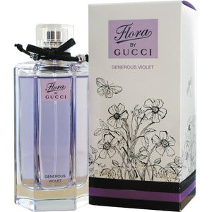 GUCCI FLORA GENEROUS VIOLET by Gucci EDT SPRAY 3.4 OZ