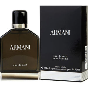ARMANI EAU DE NUIT by Giorgio Armani EDT SPRAY 3.4 OZ