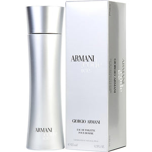ARMANI CODE ICE by Giorgio Armani EDT SPRAY 4.2 OZ