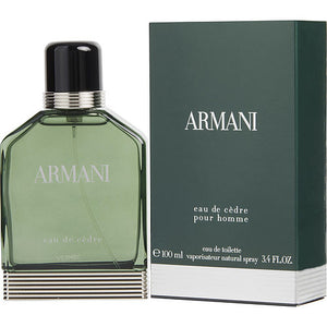 ARMANI EAU DE CEDRE by Giorgio Armani EDT SPRAY 3.4 OZ