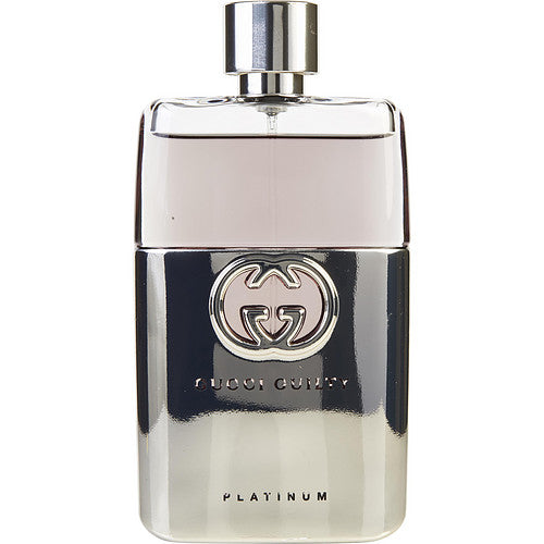 GUCCI GUILTY PLATINUM by Gucci EDT SPRAY 3 OZ *TESTER