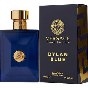 VERSACE DYLAN BLUE by Gianni Versace EDT SPRAY 3.4 OZ