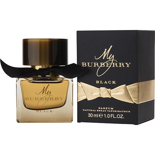 MY BURBERRY BLACK by Burberry PARFUM SPRAY 1 OZ