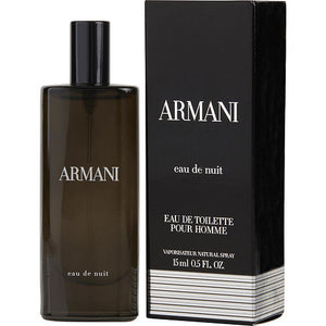 ARMANI EAU DE NUIT by Giorgio Armani EDT SPRAY .5 OZ