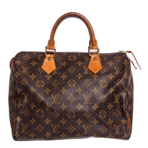 Louis Vuitton Monogram Speedy 30cm Handbag