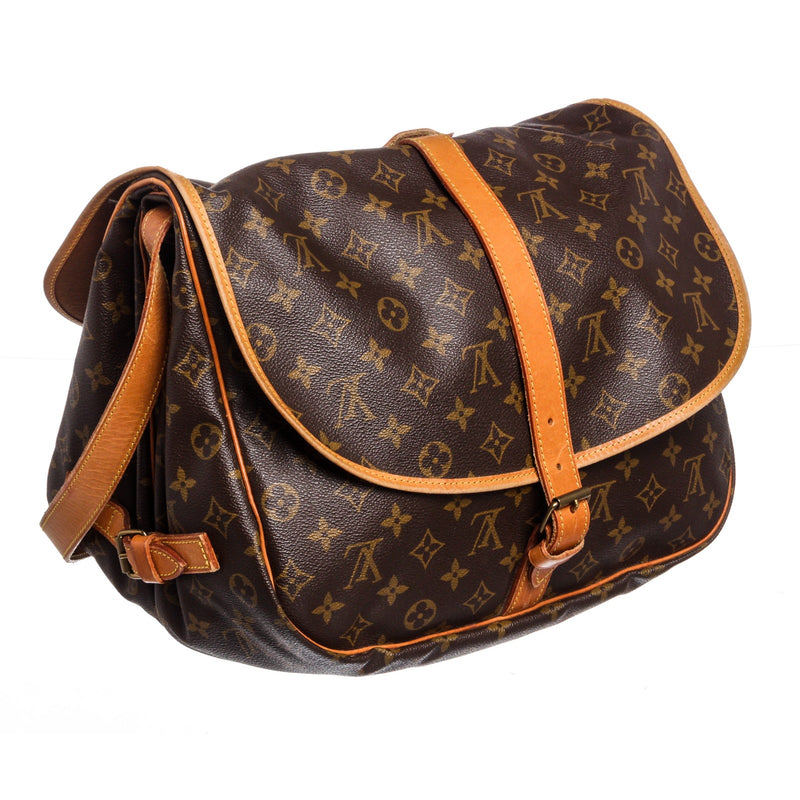 Louis Vuitton Monogram Saumur 35cm Messenger