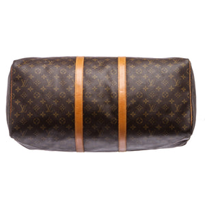 Louis Vuitton Monogram Keepall 55cm Duffle Bag