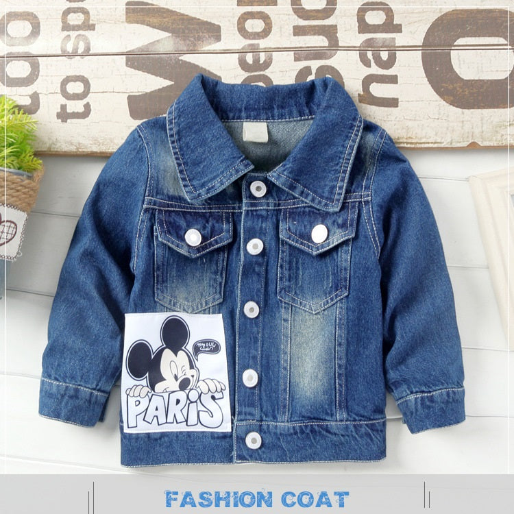 Unisex Kids Denim Jacket