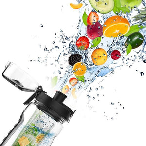 Fruit Infuser Sports Water Bottle Space Bottle