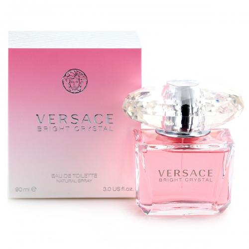 VERSACE BRIGHT CRYSTAL 3 OZ EDT SP