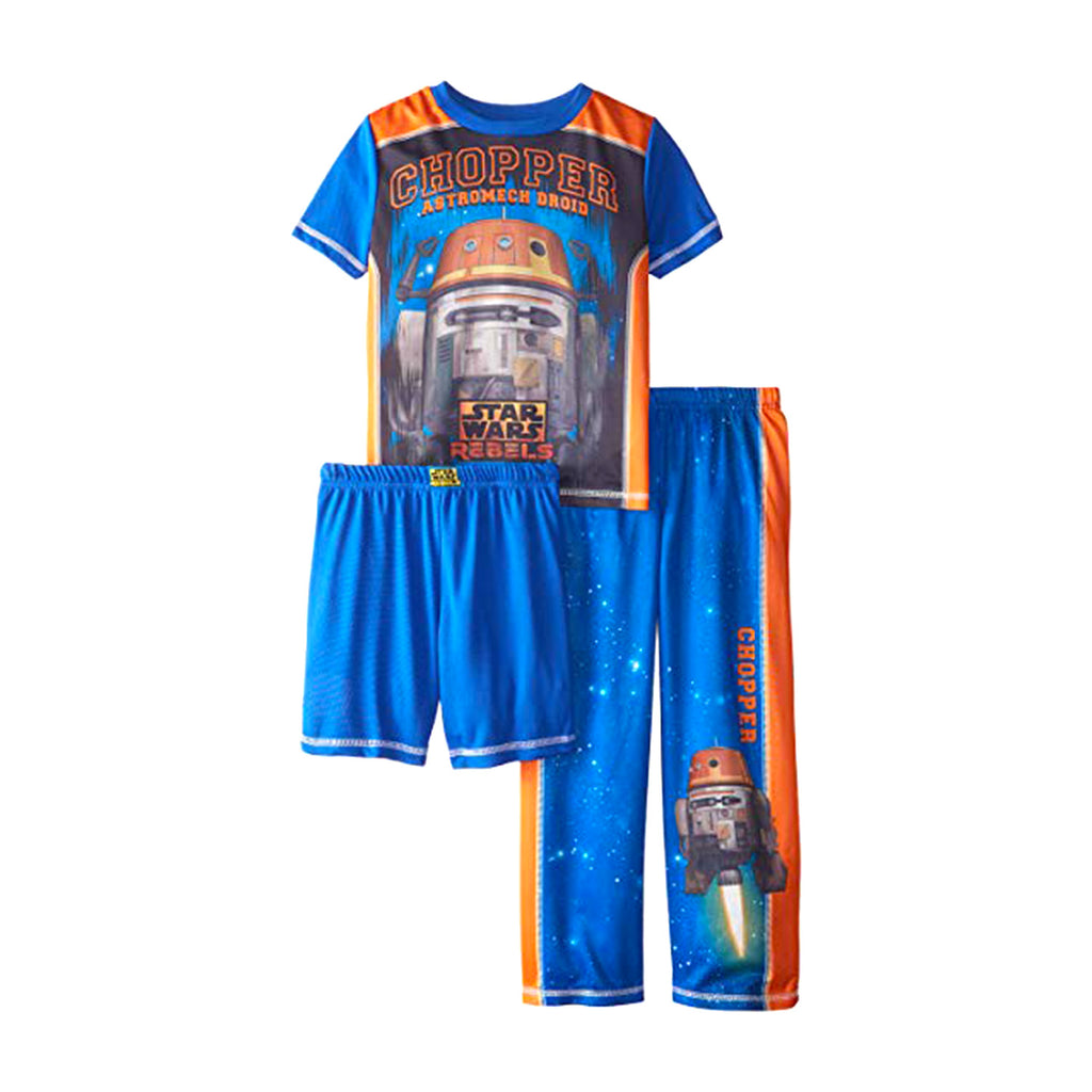 Star Wars Big Boys' Chopper 3 Piece Pant Set