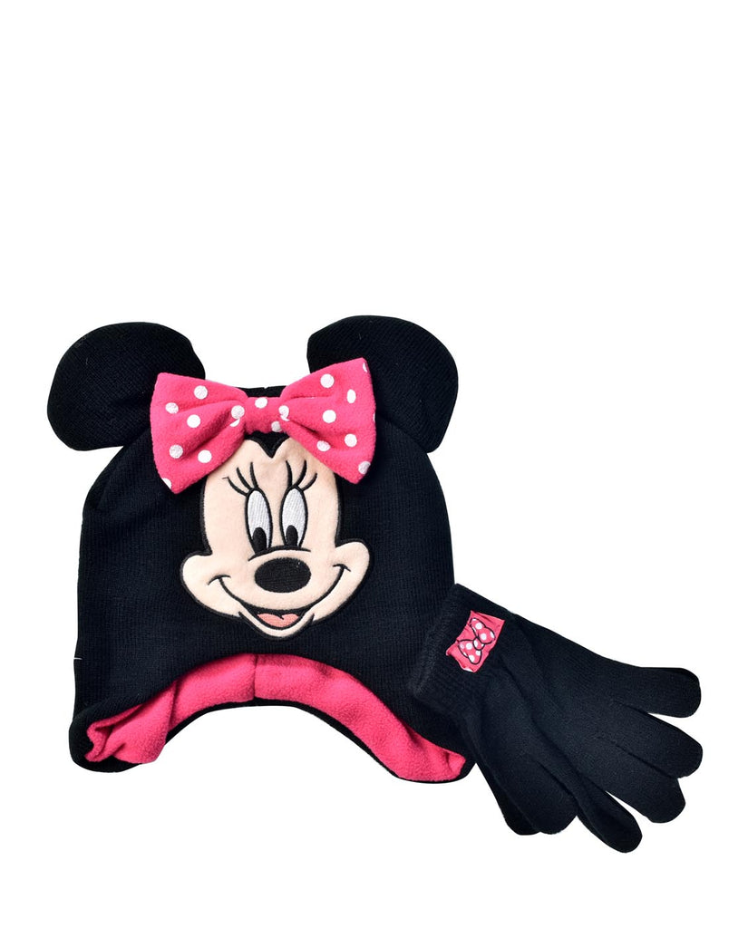 Disney Minnie Mouse 2-pc  Beanie & Gloves Set