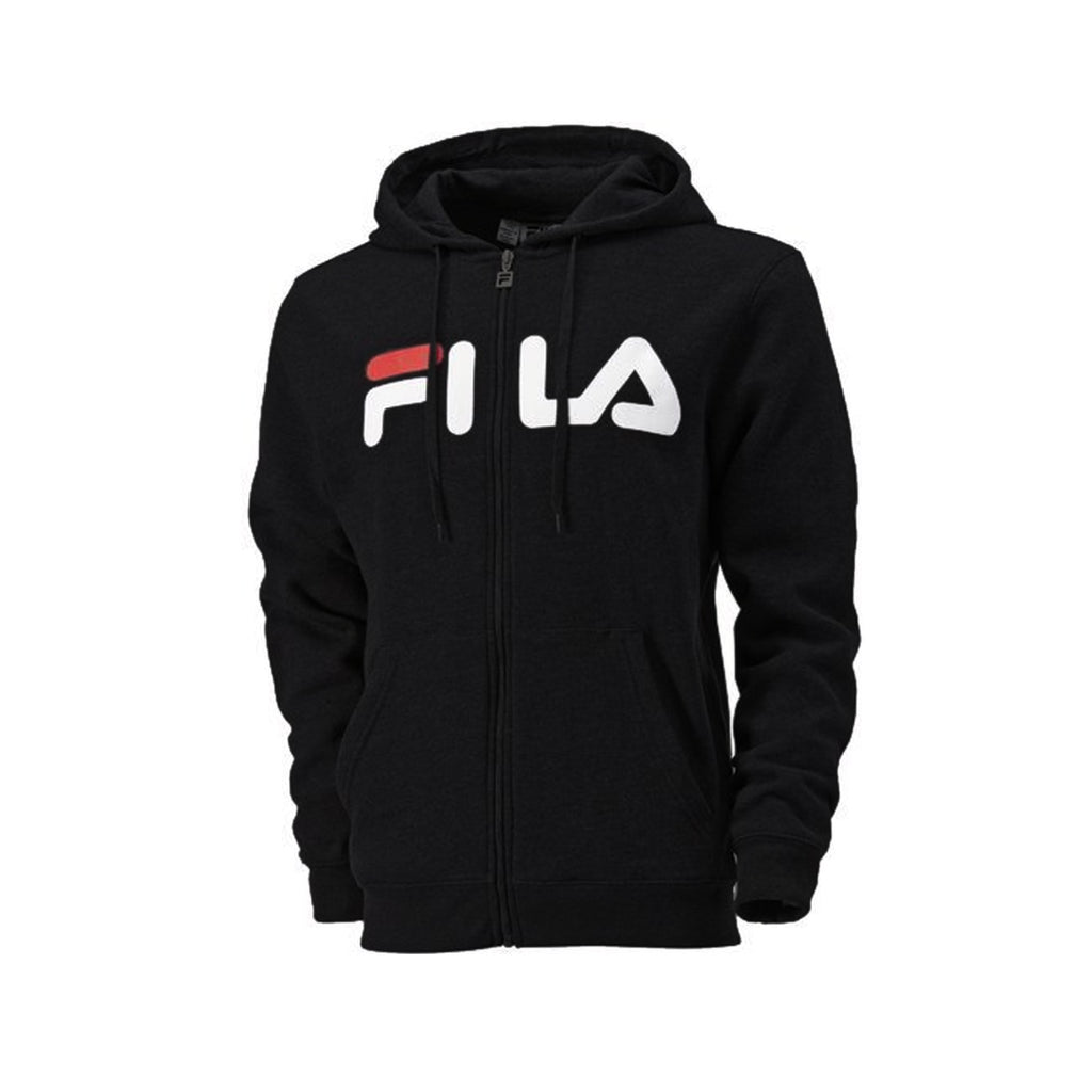 Fila Full Zip Hooded Soft Fleece Men's Sweatshirt with Media Pocket