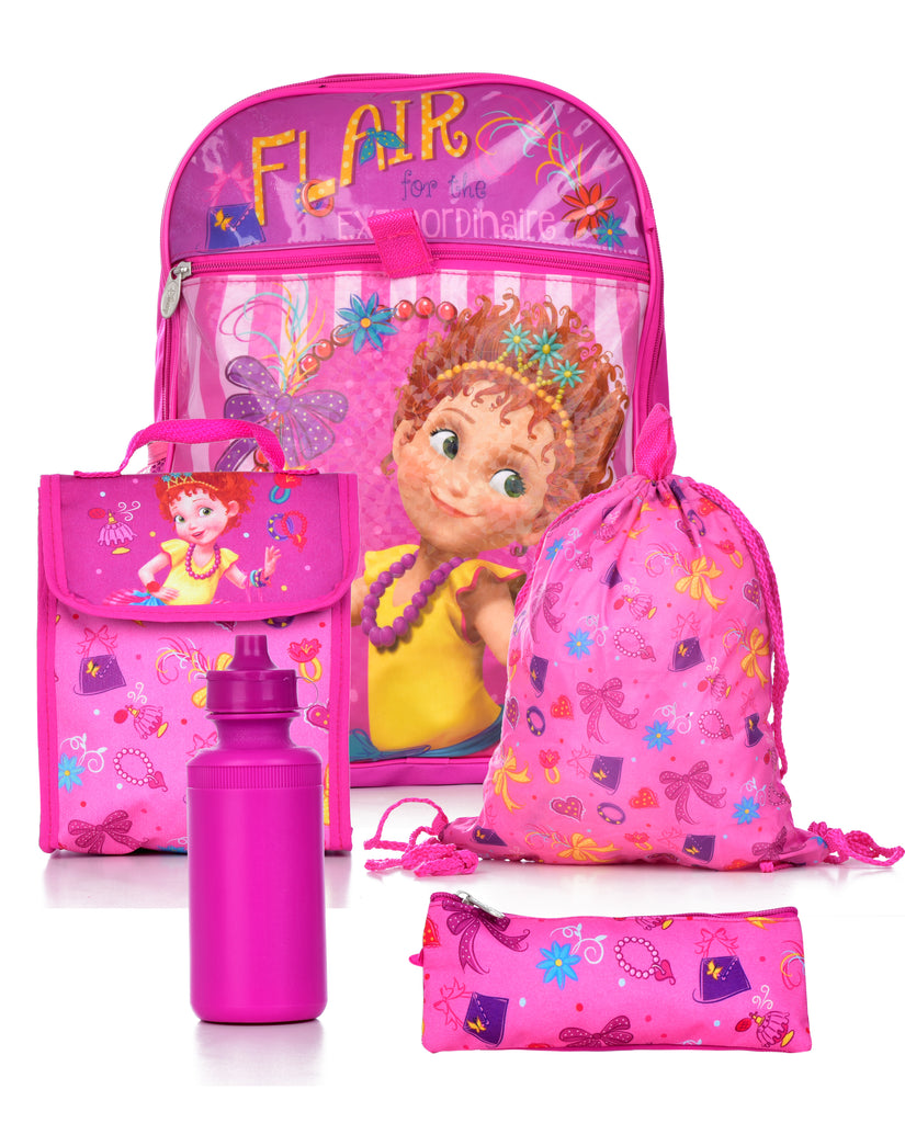 Disney Fancy Nancy 5 Pc Set Backpack Backpack