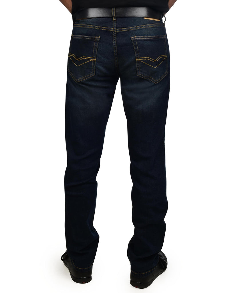 Izod Men's Comfort Stretch Slim Straight Fit Jeans