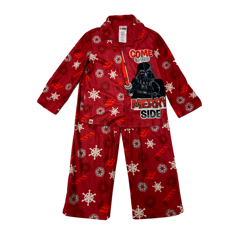 Star Wars Boys' Lego Darth Vader Come to The Merry Side Pajama