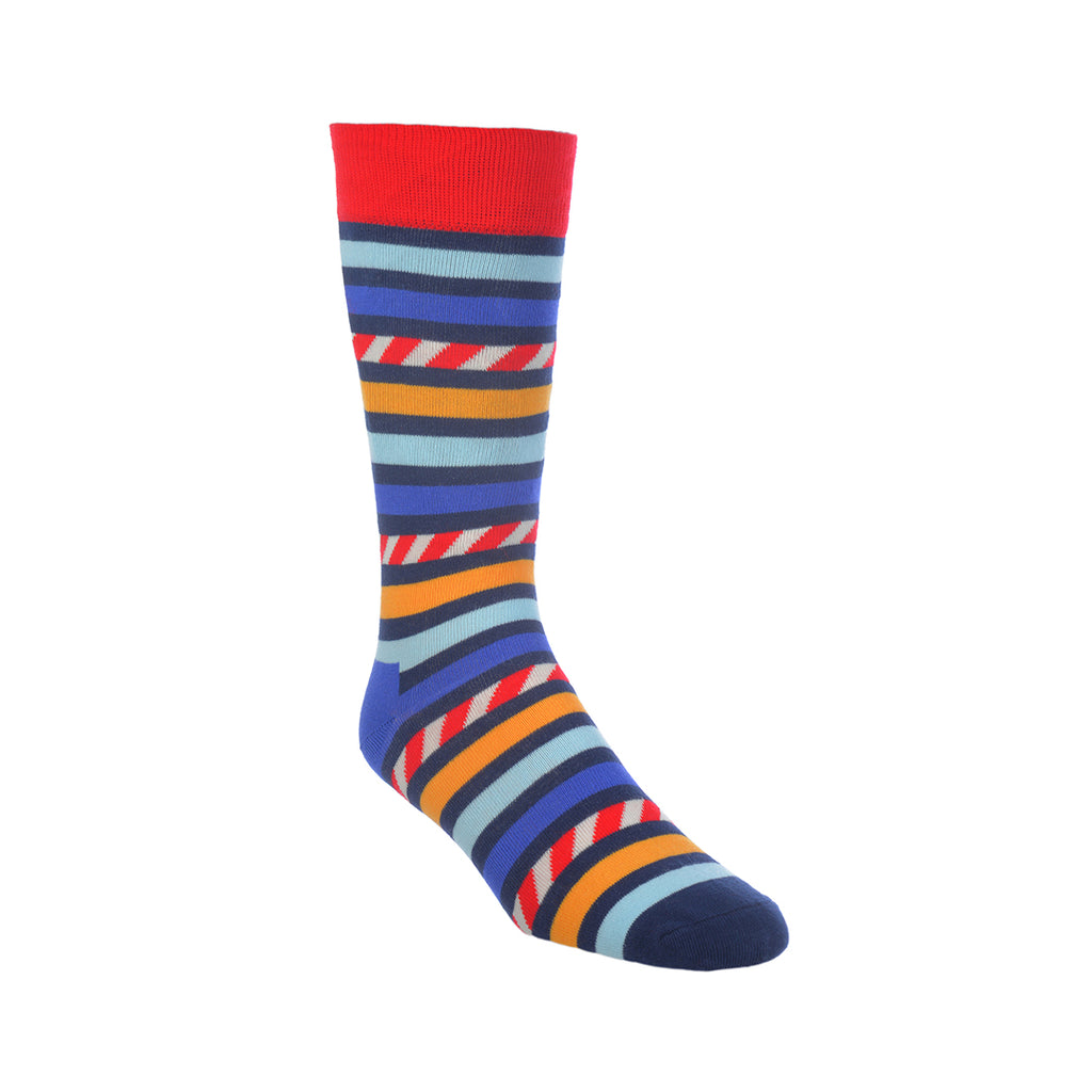 STRIPE COLOR HAPPY SOCKS
