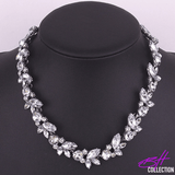 Crystal Flower Choker