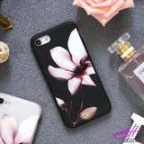 Burgundy Flower iPhone Case