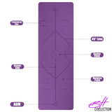 "The, ""You Got This!"" Yoga/Fitness Mat (6MM)"