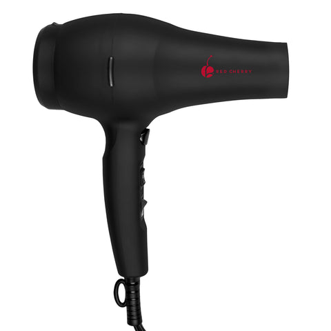 Cherry Professional Ionic 1875 Watt Hair Dryer with Cool Shot Button