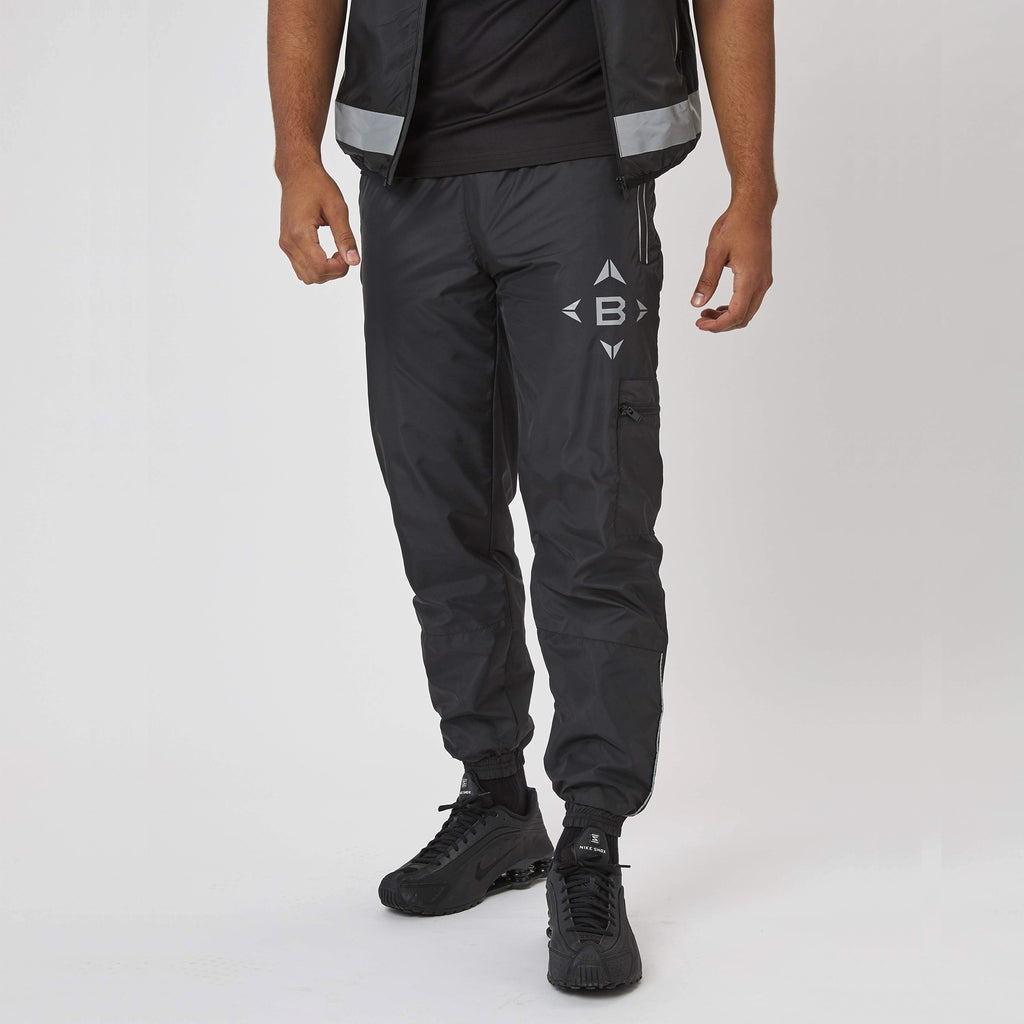 Reflective Combat Trouser | Black
