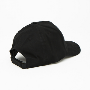 Logo Curved Peak Cap | Black