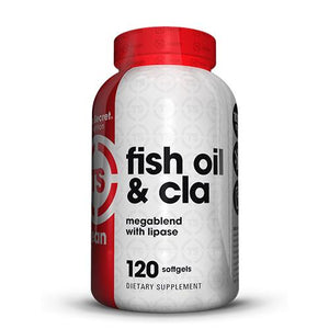 Top Secret Nutrition Fish Oil & CLA with Lipase - WHDSales, Inc