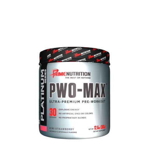 Prime Nutrition PWO-MAX™ Pre-Workout - WHDSales, Inc