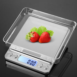 Precision kitchen scale in Stainless Steel